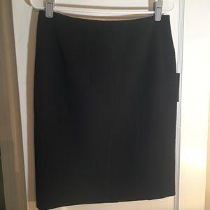 Apt 9 Pieced Yoke Black Pencil Skirt Business